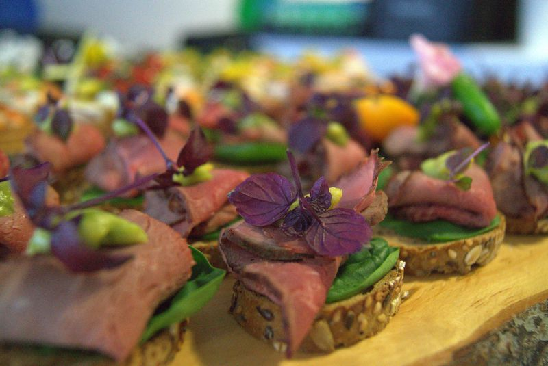 Canapes-Beef